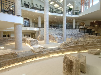 Arena di Serdica Ruins